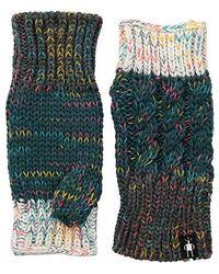 Smartwool Isto Hand Warmer (mediterranean Green Heather) Liner Gloves