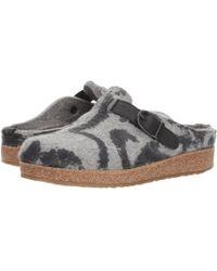 Haflinger - Grey Pattern - Lyst