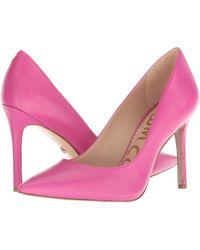 b75849e0252 Lyst - Sam Edelman Hazel in Pink