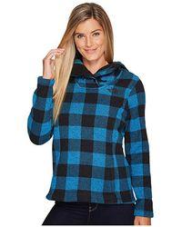 07ff558f0 Crescent Hooded Pullover (banff Blue Buffalo Print) Sweatshirt