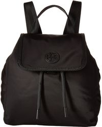 1a977e0bd1d Lyst - Tory Burch Scout Small Nylon Backpack in Black