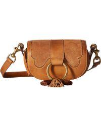 Frye - Ilana Western Mini Crossbody Bag - Lyst