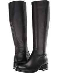 638f511c7ffc Lyst - MICHAEL Michael Kors Women s Walker Tall Riding Boots in Black