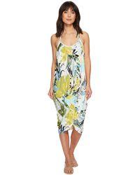 Green Dragon - Tropicaley Genevieve Wrap Dress - Lyst