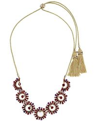 Marchesa - Adjustable Cord Frontal Necklace - Lyst