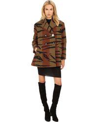 Vivienne Westwood - Tiger Stripe Blanket Princess Car Coat - Lyst