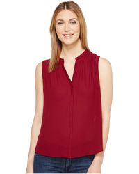 Lucky Brand - Pleated Tank Top - Lyst