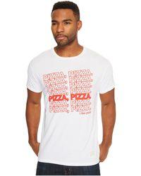The Original Retro Brand - Pizza Pizza Vintage Cotton Short Sleeve Tee - Lyst