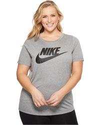 new concept f006c 62e5a Nike - Sportswear Essential T-shirt (size 1x-3x) - Lyst