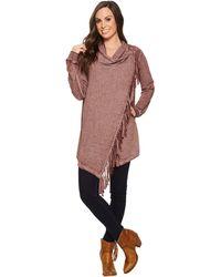 Wrangler - Long Sleeve Fleece Knit - Lyst