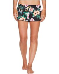 Pj Salvage - Meet Me At Sunset Floral Shorts - Lyst