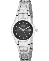 Citizen - Ew1410-50e Eco-drive Stainless Steel Watch - Lyst