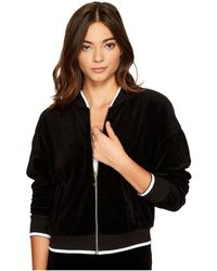 Juicy Couture - Velour Ruched Sleeve Jacket - Lyst