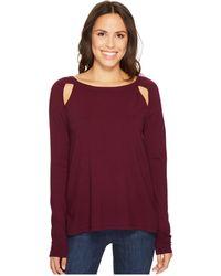 NYDJ - Slash Front Sweater - Lyst