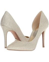 522b19f0ad MICHAEL Michael Kors - Claire D'orsay Pump (white/gold/champagne)