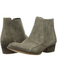 0f8857f15cb Steve Madden Yale Heeled Buckle Ankle Boots in Brown - Lyst