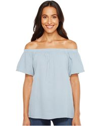 Dylan By True Grit - Raglan Off Shoulder Top - Lyst