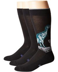 Hue - T-rex Socks With Half Cushion 3-pack - Lyst