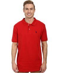 c4184705a1 Lyst - Fila Carmen Mens Polo Shirt in Black for Men