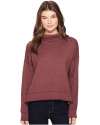 Three Dots - Fleece Sweatshirt - Lyst
