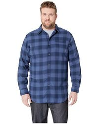 ffab1b5aacb Columbia Silver Ridge Flannel Long Sleeve Shirt (black Plaid) Long Sleeve  Button Up in Black for Men - Save 40% - Lyst