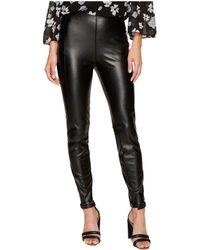 Kensie   Stretch Faux Leather Pants Ks9k1167   Lyst