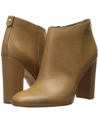10c84344d1ad1 Lyst - Sam Edelman Cambell Booties in Brown