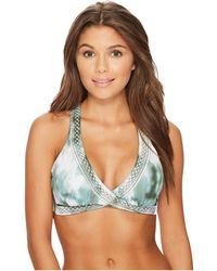 Lucky Brand - Indian Summer Faux Wrap Bra Top - Lyst