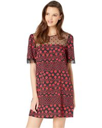 ed4cbfdb3c896 Lyst - Jessica Simpson Plus Size Madelynn Floral-print Sweetheart ...