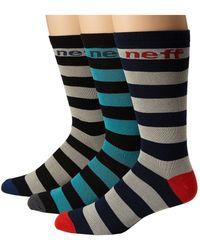 Neff - Striper Sock Pack - Lyst