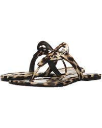 2bcf718b8af Lyst - Tory Burch Miller Fringe Sandal (bleach spark) Women s Sandals
