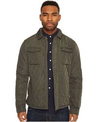Scotch & Soda | Lightweight Quilted Shirt Jacket In Nylon Quality | Lyst