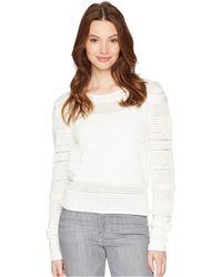Joe's Jeans - Zinnia Pointelle Sweater - Lyst
