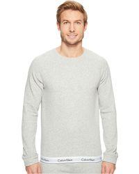 Calvin Klein - Modern Cotton Stretch Lounge Sweatshirt - Lyst