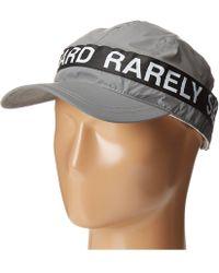 Mostly Heard Rarely Seen - Zipper 3m Reflective Convertible Visor Hat - Lyst