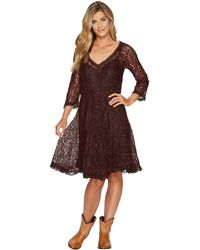 Scully - Angelica Lace Dress - Lyst
