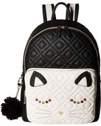 Betsey Johnson - Cat Backpack - Lyst