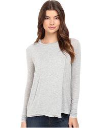 Bench - Enunciation Asymmetrical Tee Shirt - Lyst