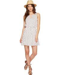 Jack BB Dakota - Magali Printed Crinkle Poly Dress - Lyst