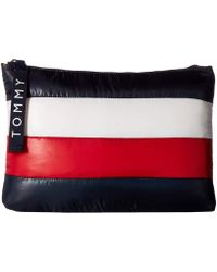 Tommy Hilfiger - Ames Puffy Corp Color Block Pouch - Lyst