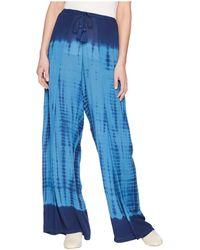 Green Dragon - High Tide Gauze Stephanie Wide Leg Wrap Pants - Lyst
