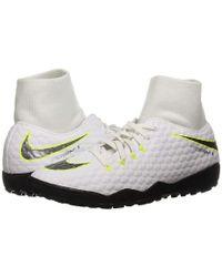 0f7f23945 Nike - Hypervenom Phantomx 3 Academy Dynamic Fit Tf (white/metallic Cool  Grey/