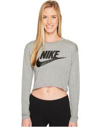 Nike - Sportswear Irreverent Crop Top - Lyst
