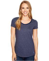 U.S. POLO ASSN. - Soft Heather Scoop Neck T-shirt - Lyst