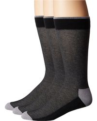 Hue - Pique Socks With Half Cushion 3-pack - Lyst