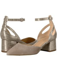 2651e5e085f3 Lyst - Franco Sarto Caleigh Ankle Strap Sandal