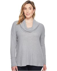 Lucky Brand - Plus Size Tulip Hem Sweatshirt - Lyst