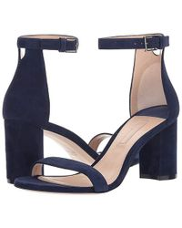 92dad6fef3 Mostly Wedge Sandal. $398. Amazon Prime · Stuart Weitzman - 75lessnudist  (midnight Suede) Shoes - Lyst
