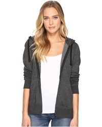 Hurley | Solid Icon Zip Fleece | Lyst