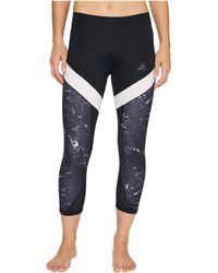 adidas - Marble Ultimate 3/4 Tights - Lyst